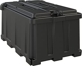 NOCO Black HM484 Group 8D Commercial-Grade Box for 12V Marine, RV, Boat, and Trailer Batteries