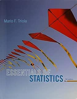 Essentials of Statistics; MathXL Valuepack Access Card (6-months) (5th Edition)