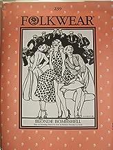 Folkwear #239 Blonde Bombshell Marilyn Monroe Dress 1950s Sewing Costume Pattern