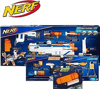 NERF Modulus Regulator Blaster and Upgrade Kits Bundle Deal 2019 -- Dart-Firing Blaster, Customizing Accessories, Darts