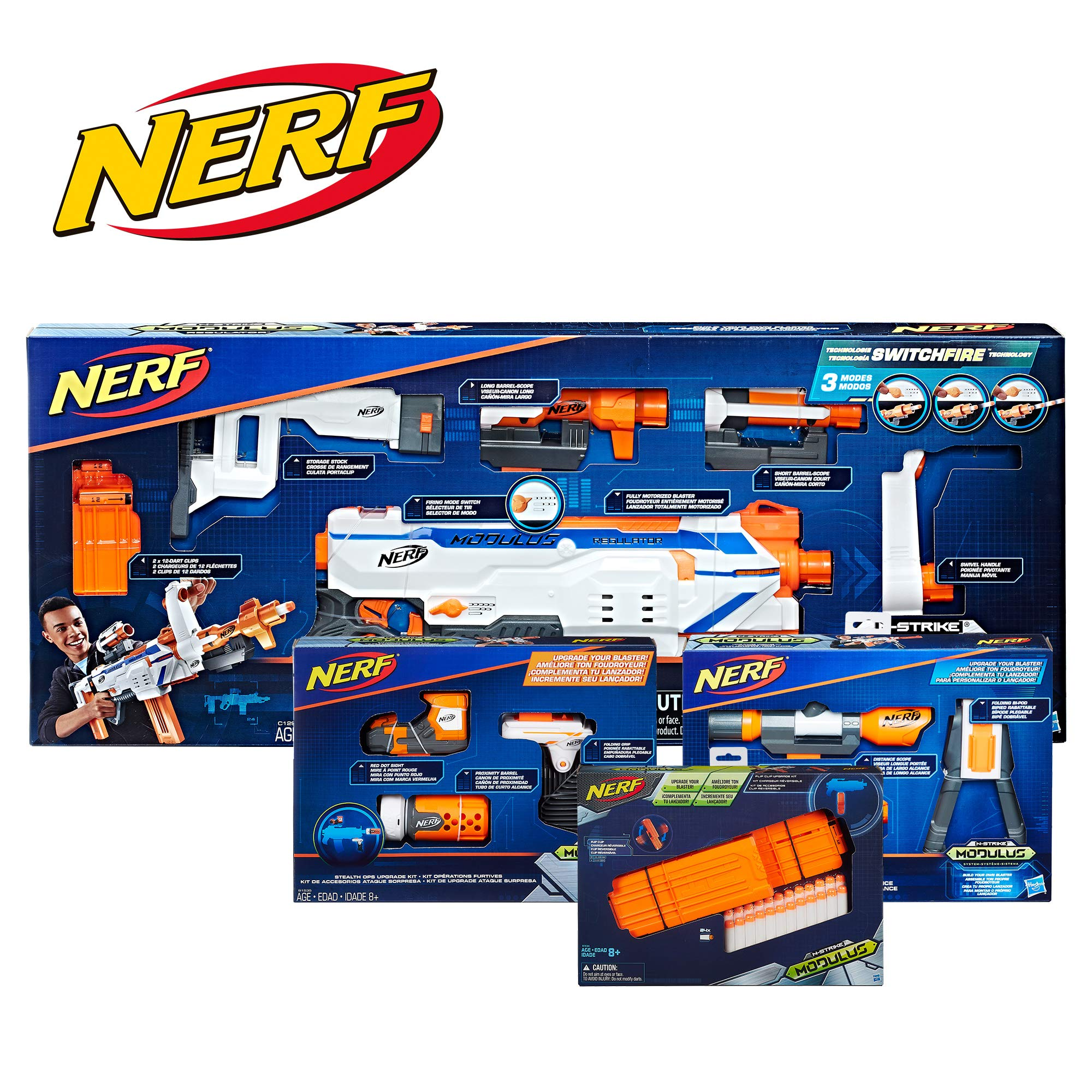 NERF Regulator Dart Firing Customizing Accessories