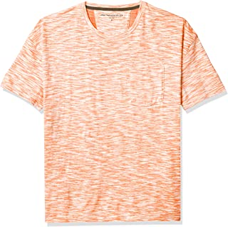 John Varvatos Star USA Men's Pierson Short Sleeve Easy Fit Slub Cotton Crew Neck Tee
