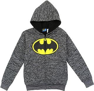 b7bffda3d23 DC Comics Batman Little Boys Sherpa Fleece Hoodie