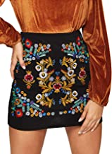 Best boho embroidered skirt Reviews