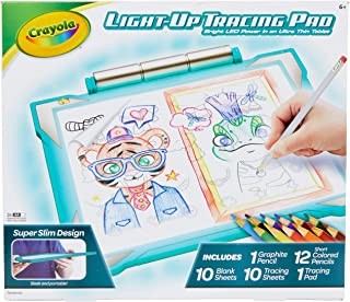 Best Crayola Light Up Tracing Pad Teal, Amazon Exclusive, Kids Toys, Ages 6, 7, 8, 9, 10 Review