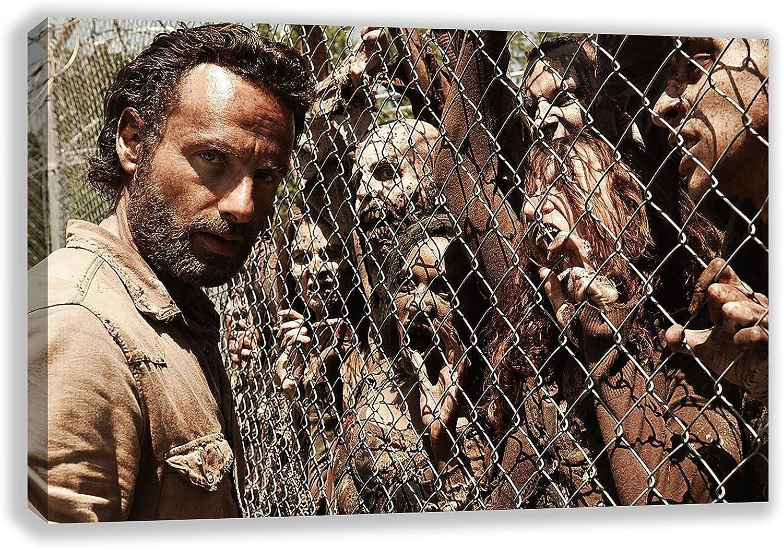 ventas en línea de venta The Walking Dead Rick Tamaños lienzo (30x (30x (30x 45cm)  orden en línea