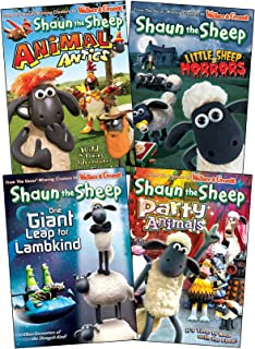 The Shaun the sheep collection #2 (Animal Antics, Little Sheep of Horrors, One Giant Leap for Lambkind , Party Animals)
