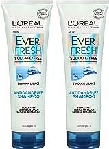 L'Oreal Paris Hair Care Ever Fresh Antidandruff Shampoo Sulfate Free, 2 Count