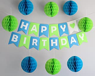 Best blue and green party decorations Reviews