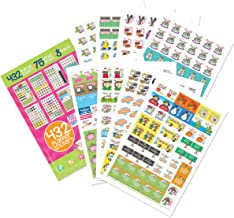 432 Planner Stickers - Busy Mom Collection for Calendars, Planners. Appointment Reminder Stickers, Doctors, School, Birthdays, Play Dates, Events, Scrapbook, Wedding, Vacation, Color Cute Designs