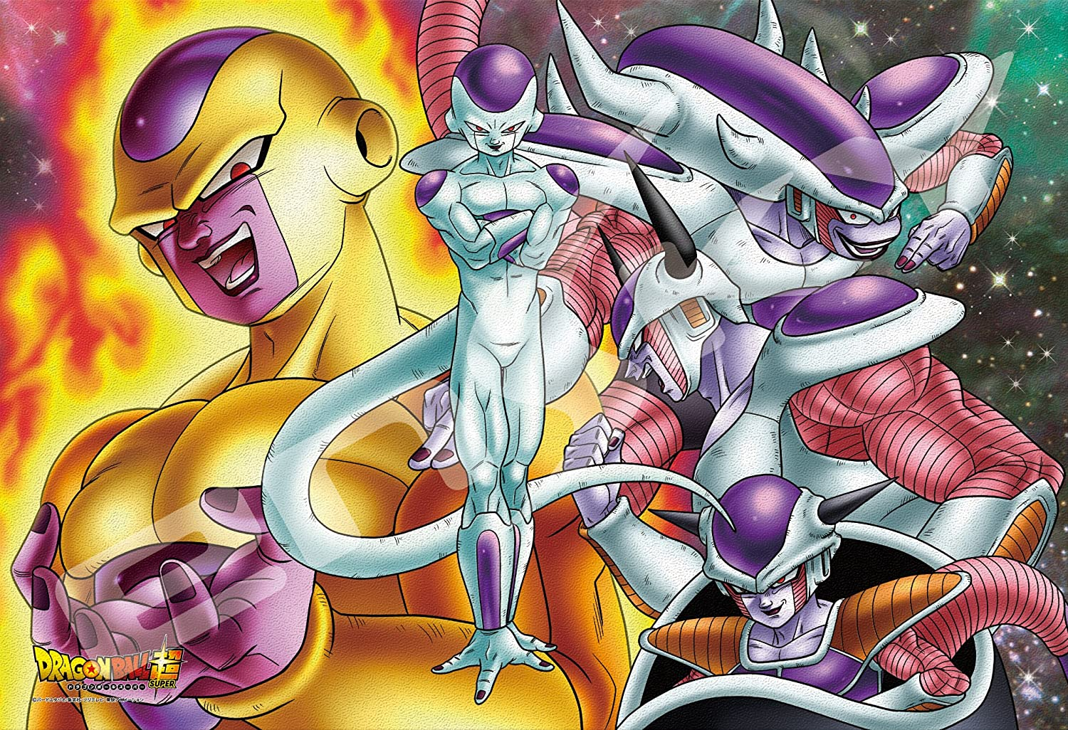 Ensky Dragon Ball Manufacturer direct delivery Lowest price challenge Super Frieza All Crystal Jigsaw Puzz Art Forms