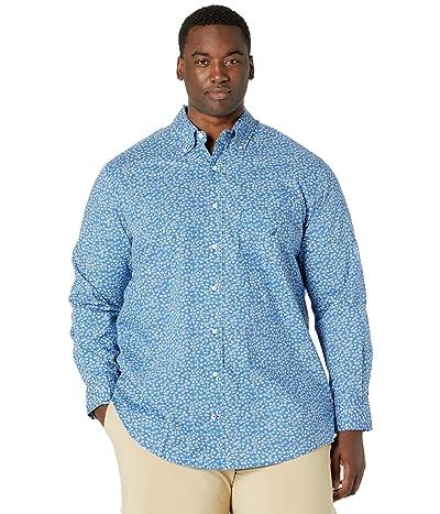 Nautica Big & Tall Big Tall Classic Fit Floral Print Shirt