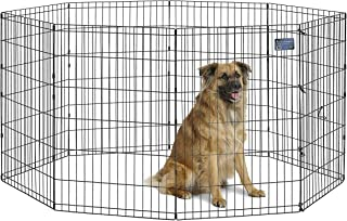 "Midwest Foldable Metal Exercise Pen/Pet Playpen, 24""W x 36""H"