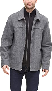Men's Logan Wool Blend Open Bottom Bib Jacket
