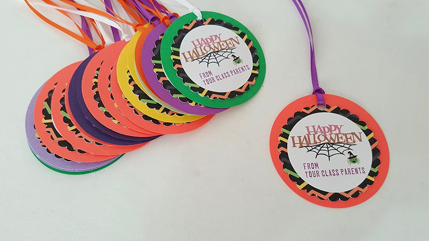 Indianapolis Popular product Mall Halloween Gift Favor Tags Thank you