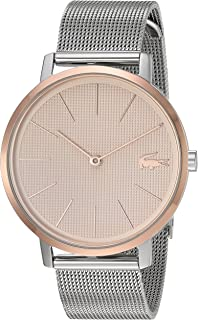 Lacoste Quartz Watch with Stainless Steel Strap, Two Tone, 16 (Model: 2001072)