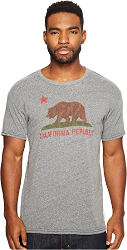 Vintage California Republic Short Sleeve Tri-Blend T-Shirt