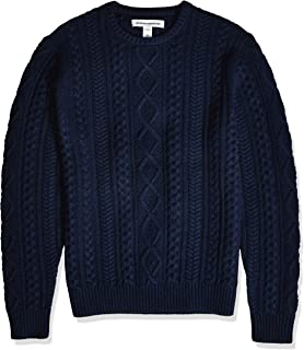 fisherman knit sweater mens
