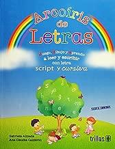 Arcoíris de letras: Juego, dibujo y aprendo a leer y escribir con letra script y cursiva
