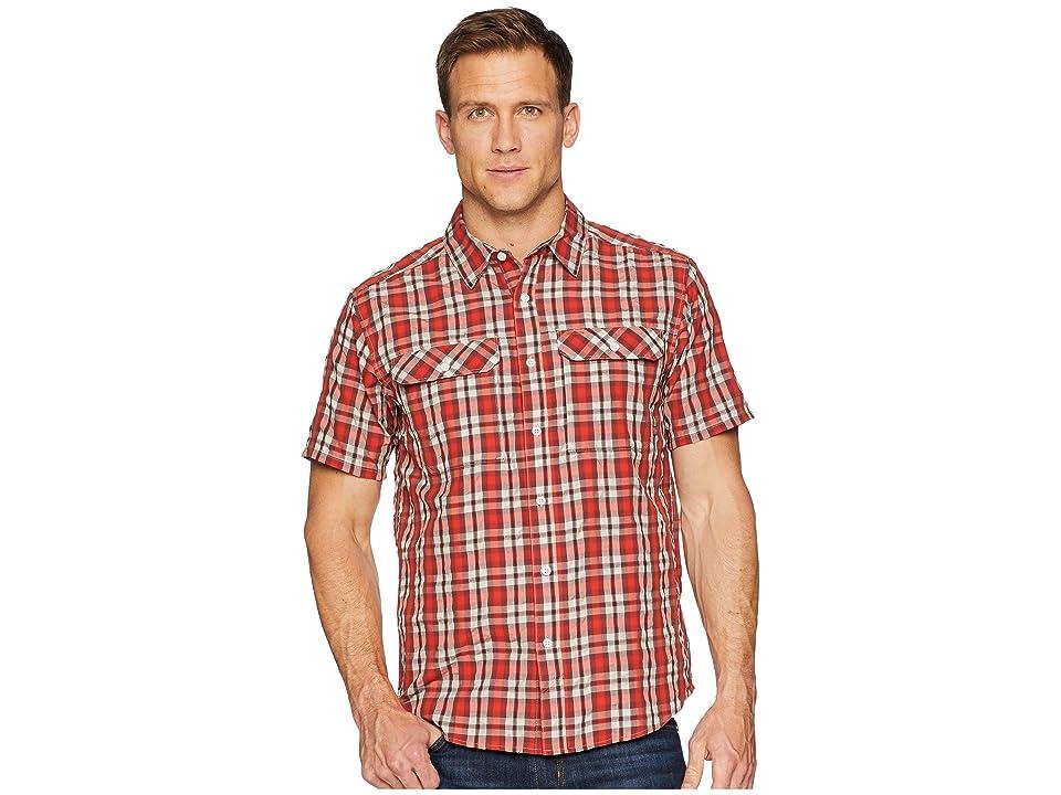 Mountain Hardwear Canyon AC Short Sleeve Shirt (Dark Fire) Men