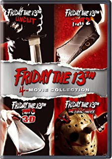 Friday the 13th 4-Movie Collection  Friday the 13th Uncut / Friday the 13th Part 2 / Friday the 13th Part 3 / Friday the 13th Final Chapter