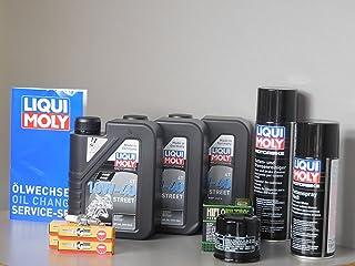 Juego de mantenimiento Honda CBR 600 F PC41 aceite de aceite Bujía Cadena Service Inspección