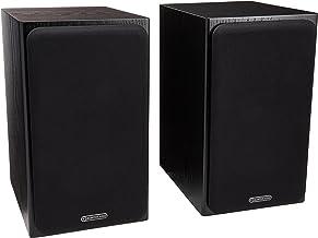Monitor Audio - Silver Series 1-2-Way Compact Loudspeakers - Pair - Black Oak