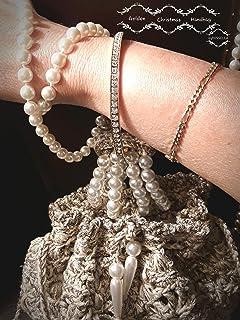 GOLDEN NIGHT la borsetta saccoccio con le perle