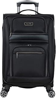 Kenneth Cole Reaction Rugged Roamer Luggage Collection Lightweight Softside Expandable 8-Wheel Spinner Travel Suitcase Ba...
