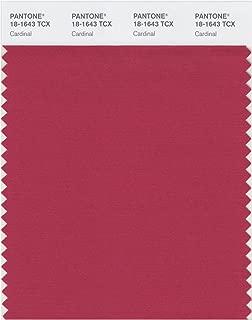 PANTONE Smart 18-1643X Color Swatch Card, Cardinal