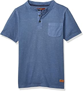 7 for All Mankind Boys' Big Short Sleeve Thermal T-Shirt