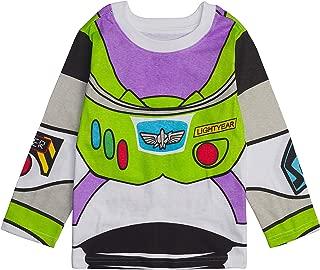 Disney Toy Story Long Sleeve Costume T-Shirt - Buzz Lightyear, Sheriff Woody - Boys, Girls, Unisex Sizing