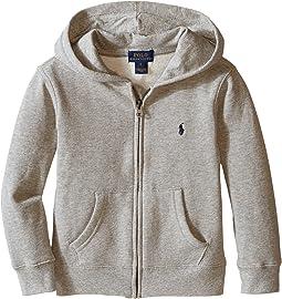 Polo Ralph Lauren Kids Collection Fleece Full-Zip Hoodie (Little Kids)