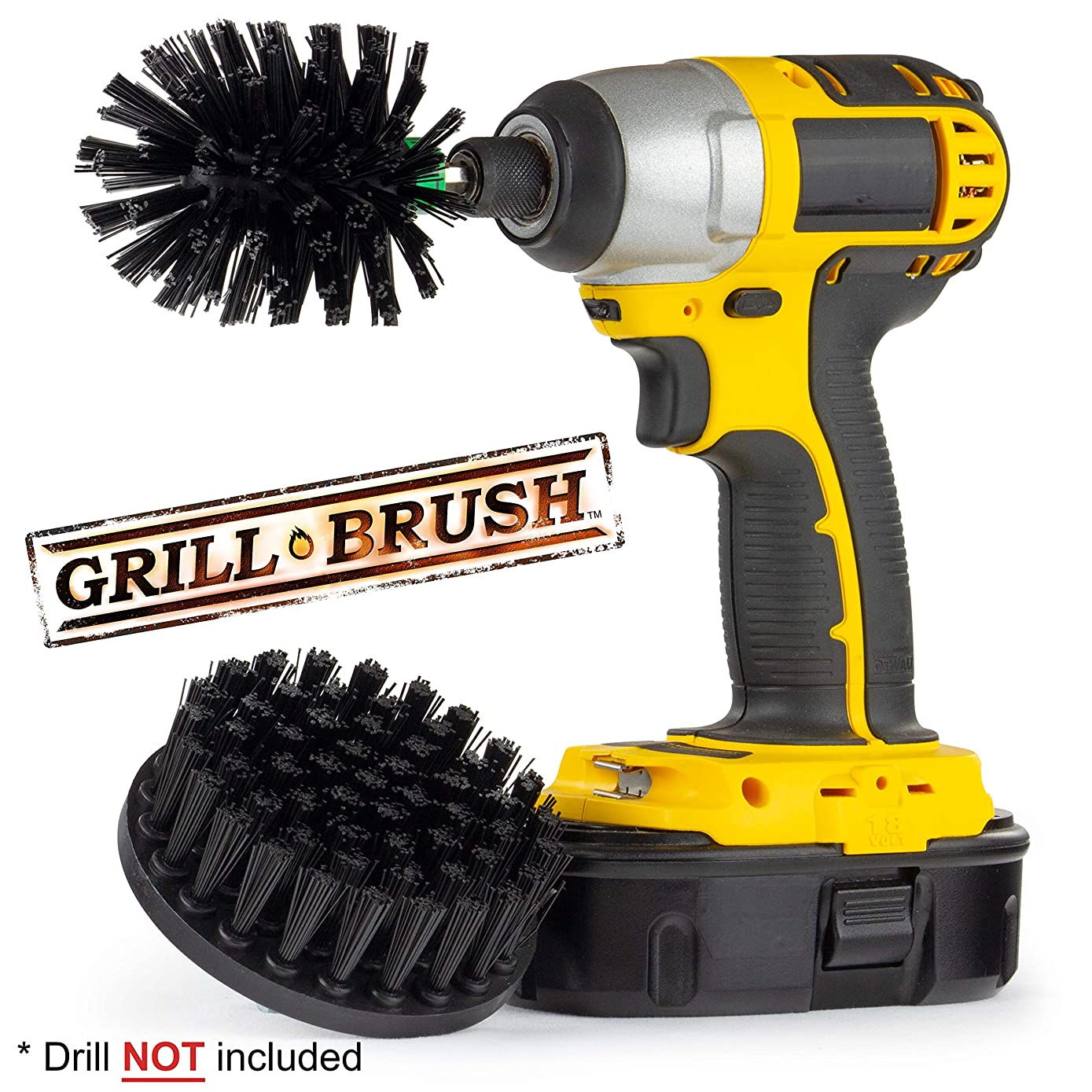 BBQ Grill Brush - Grill Accessories - BBQ Grill - Grill Cleaner - Grill Tools - BBQ Brush - Electric Smoker - Smokers and Grills - Grill Scraper - BBQ Tools