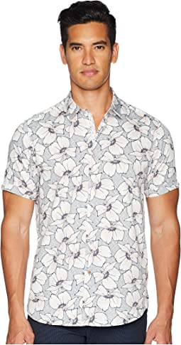 Ted Baker Bigflo Short Sleeve Floral Print Shirt