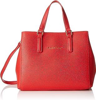 حقيبة تسوق سوبرمان بلون احمر من فالنتينو