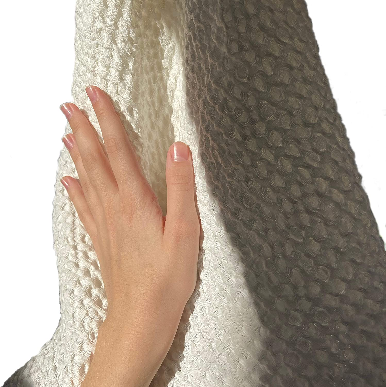 FLAXBEL - Premium Waffle Weave Linen Bath a Towel Flax Max 42% OFF Sales Natural