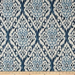 Richloom Fabrics Rhodes Fabric, Denim