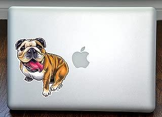 English Bulldog Art Full Color Decal for 13