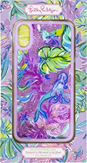 Lilly Pulitzer iPhone XR Case, Mermaid in The Shade (Glitter)