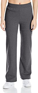Hanes Women's Middle Rise Sweatpant, Slate Heather, Medium