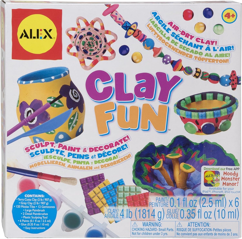 Alex Clay Fun Airdry Clay Sculpture Kit