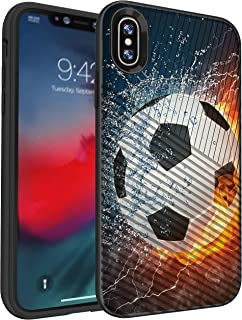 MINITURTLE Compatible with Apple iPhone XR Slim Embossed Grip Texture Hard Shell Case Cover
