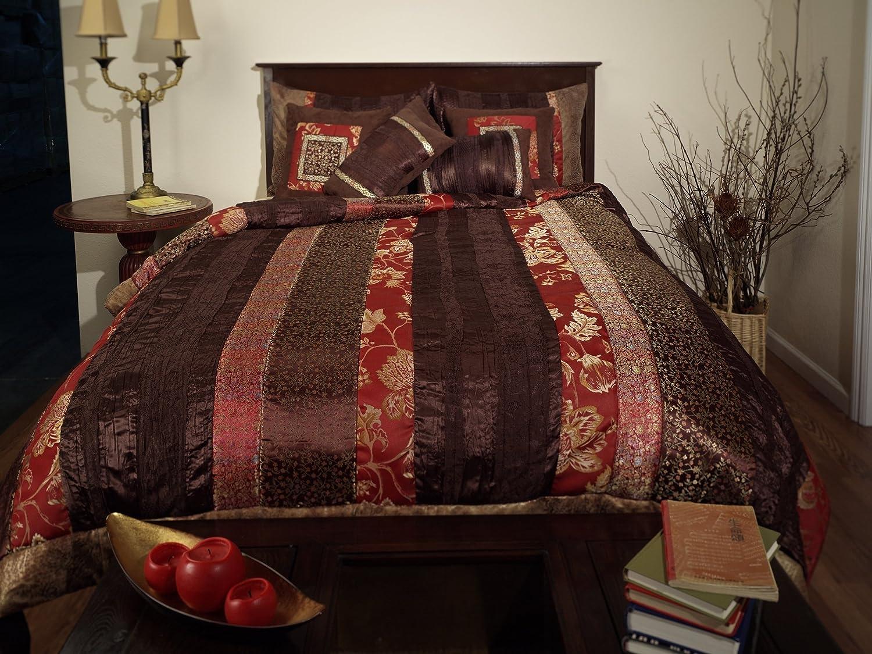 Hudson Street 2000223 Full Ashbury Denver Mall Set We OFFer at cheap prices Brown Ful Comforter