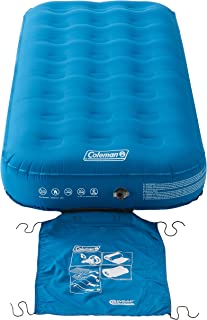 Coleman Airbed Extra Durable Single/Double/Raised Double, Camping Bed, Flocked Single/Double Air Bed, Inflatable Air Mattr...