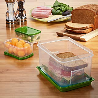 Fit & Fresh Lunch On The Go Container Set, 1 Ea, 1count