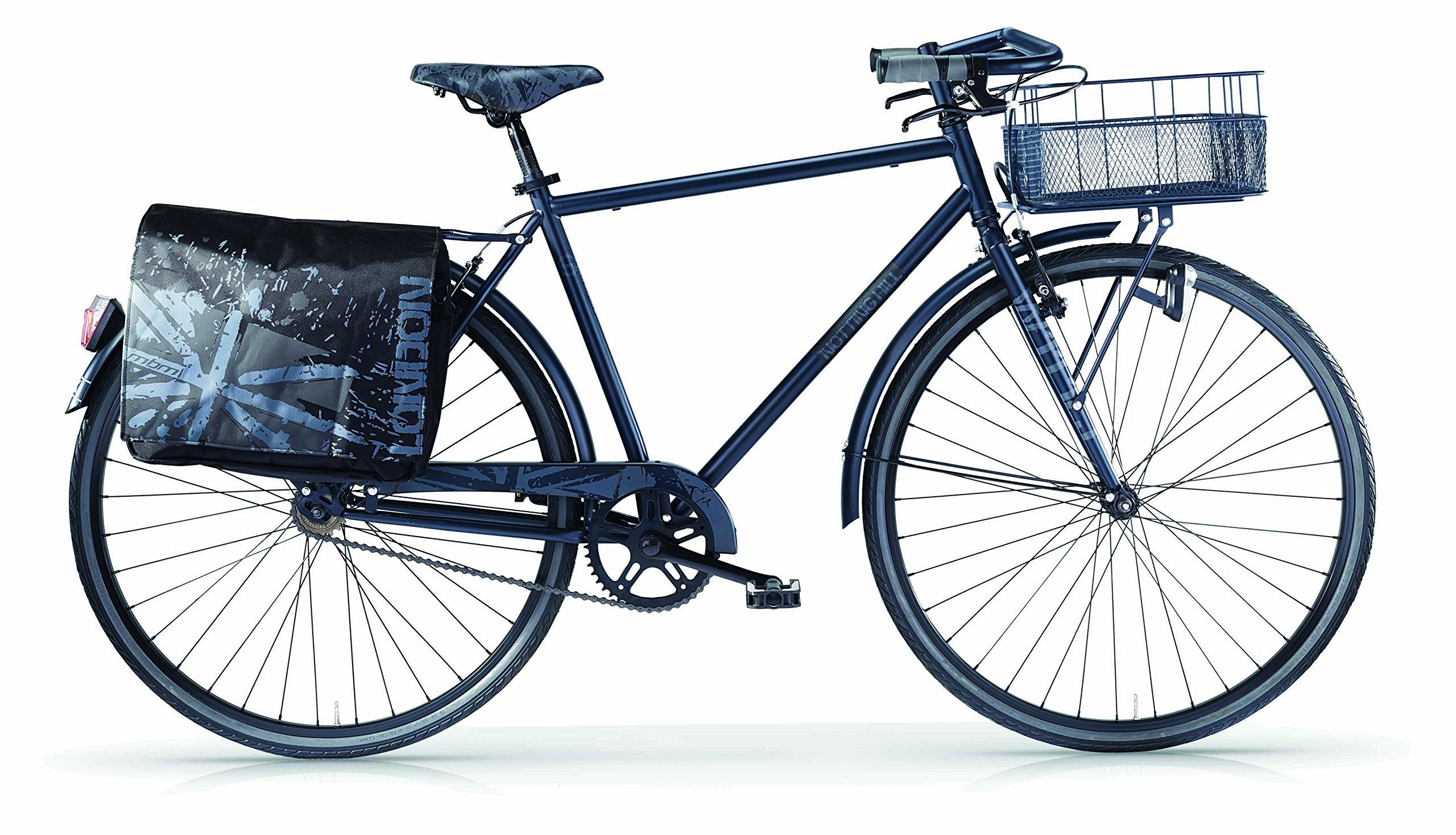 Bicicleta MBM Notting Hill para hombres, cuadro de acero, 28 ...