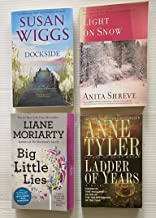 4 Books! ~ Variety of Authors! ~ 1) Dockside 2) Light on Snow 3) Ladder of Years 4) Big Little Lies
