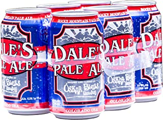 Oskar Blues Brewery Dale's Pale Ale cans, 6 pk, 12 oz cans, 6.5% ABV