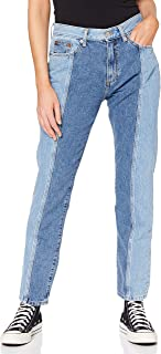French Connection womens PALMIRA TWO TONE JEANS Jeans